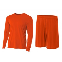 A4 Cooling Performance Long Sleeve Soccer Set