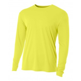 A4 Cooling Performance Long Sleeve Soccer Crew