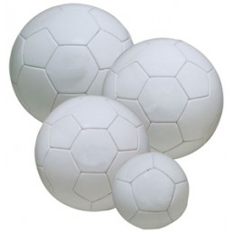 All White Soccer Ball