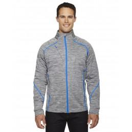 North End Men's Flux Mélange Bonded Fleece Jacket