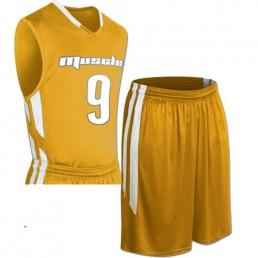 Muscle Basketball Uniform Set