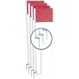 Corner Flag-Steel Peg