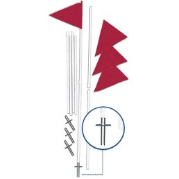 Corner Flag-2 Piece EC