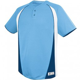 High Five Ace Two Button Baseball Jersey