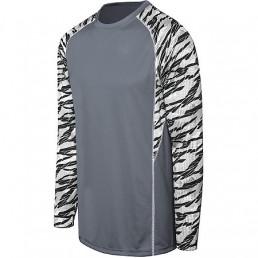 High Five Evolution Print Long Sleeves Soccer Jersey