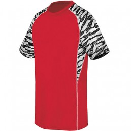 High Five Evolution Print Short Sleeve Soccer Jersey
