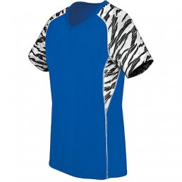 High Five Evolution Print V-Neck Soccer Jersey