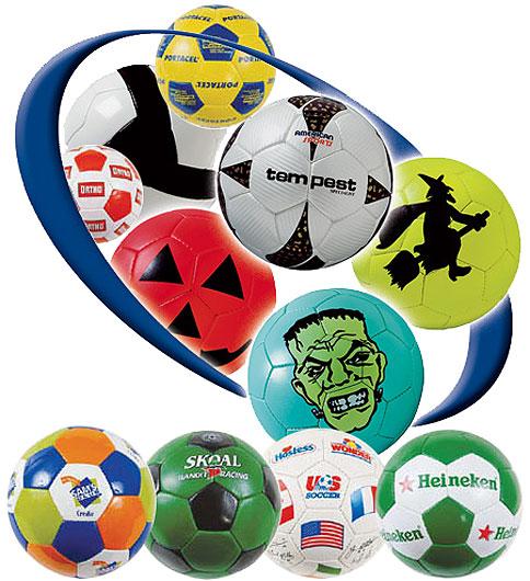 Custom Printed LOGO SOCCER BALLS CustomBalls